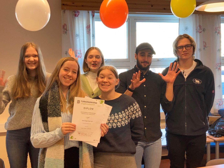 Hele Norge Deler Beste Sosiale Entreprenor 3 plass