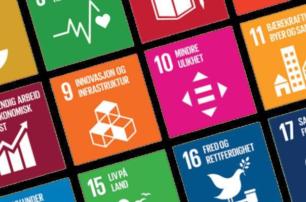 FN sambandet Alle SDG farger