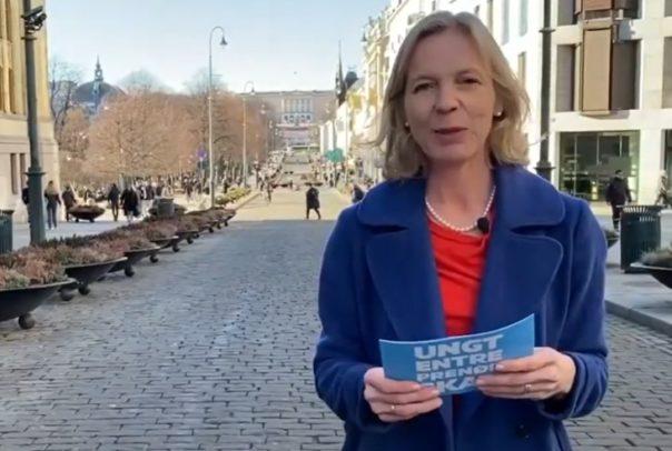 Marte Gerhardsen arets ent skole utdeling 2020