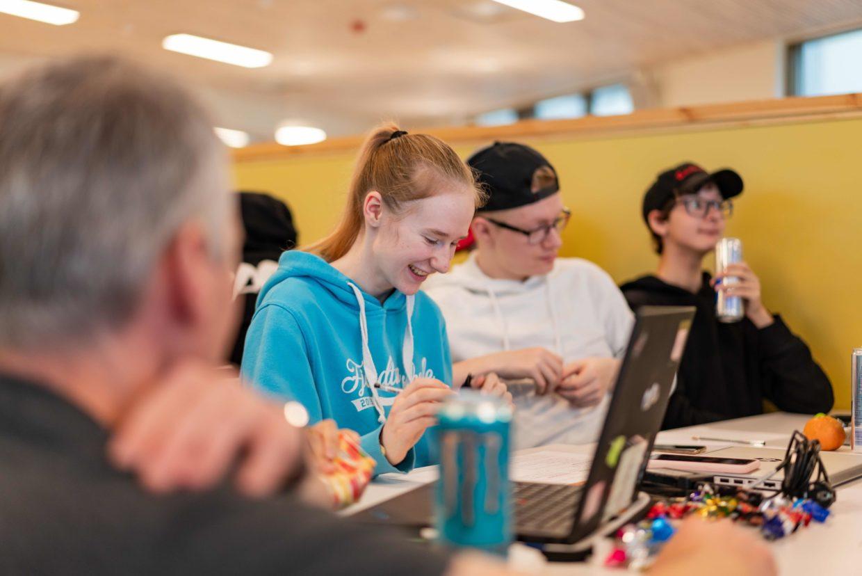 2 MB Innovasjonscamp elever 5 Hammerfest 2021