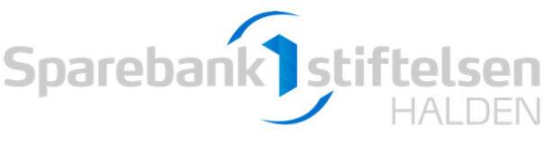 Sparebank1 stiftelsen Halden logo hvit
