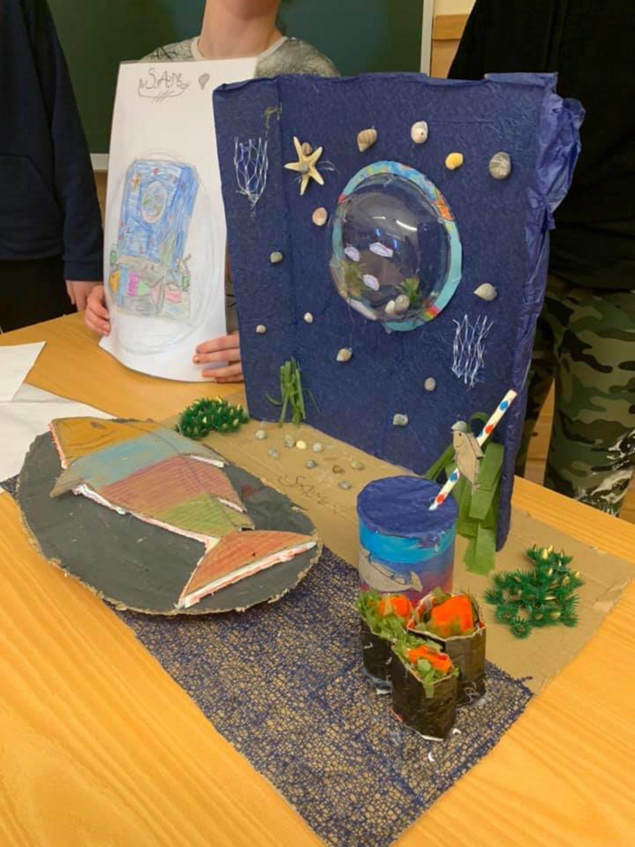 Modell SMART Sjømat ved Senja Montessoriskole