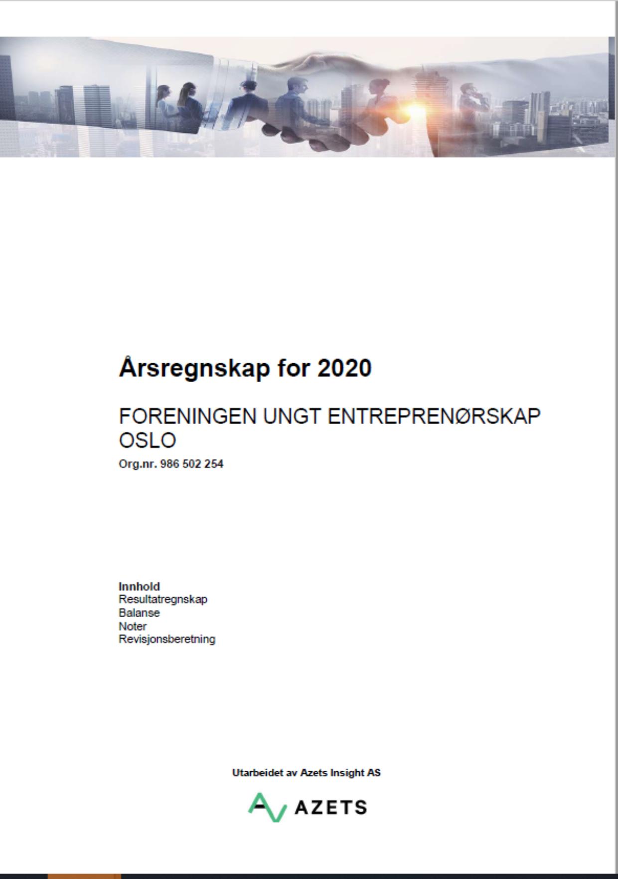 Arsregnskap UE Oslo s1