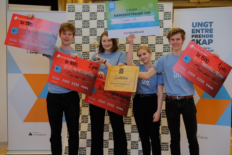 Beste ungdomsbedrift 2019 Opplett UB