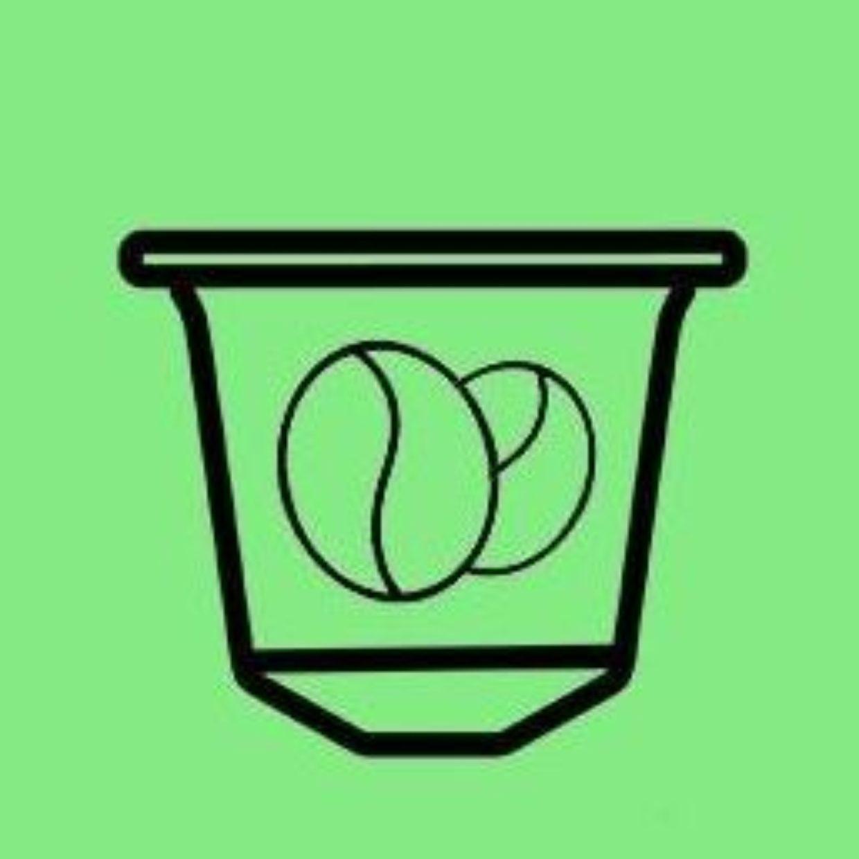 Gronn kaffe logo