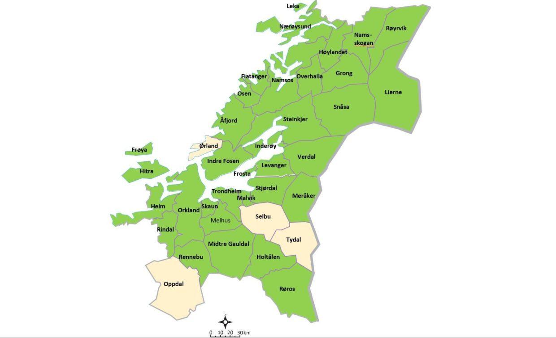 Kommunekart nytt