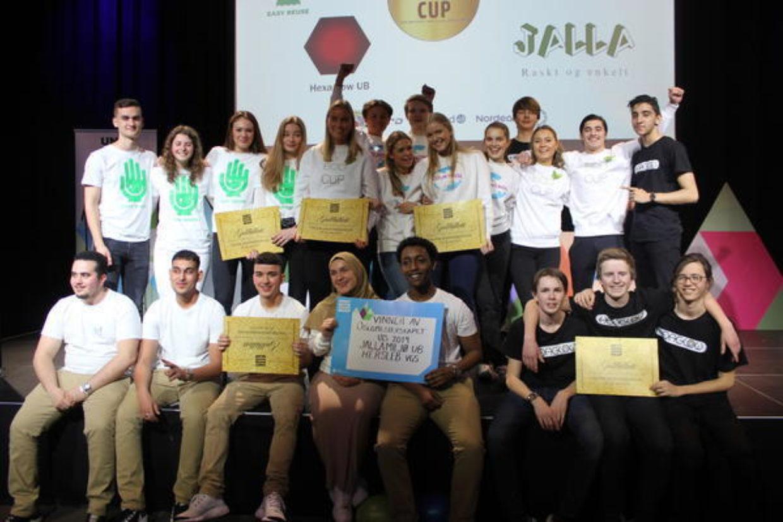 Oslos beste Ungdomsbedrift 2019 og aarets NM lag