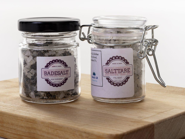 Produktbilde Salttare og Badesalt