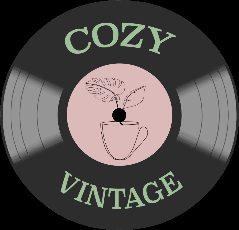 Logo cozy vintage lp plate