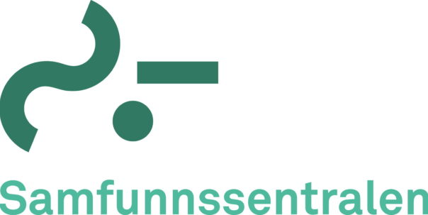 Samfunnssentralen logo staeende ORIG
