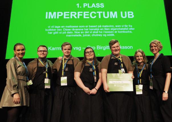 Imperfectum UB vinner beste kundeopplevelse utstilling FMUB2020