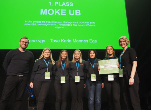 Moke UB vinner1plass samarbeidnaeringslivet FMUB2020