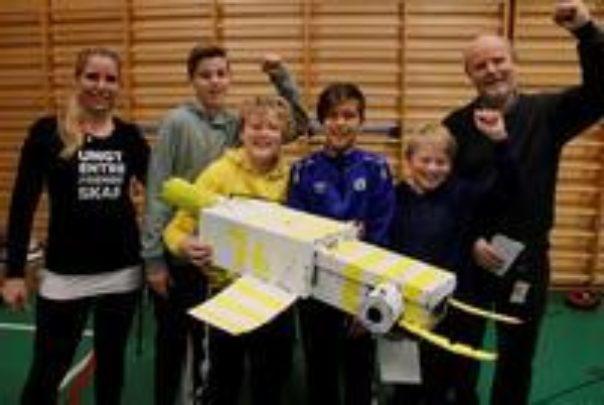 Tromsdalen skole er SMART Vinnergruppa 7kl medium